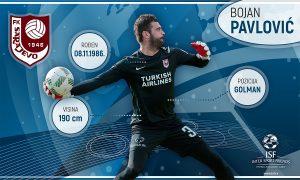 Bojan Pavlović produžio ugovor sa FK Sarajevo